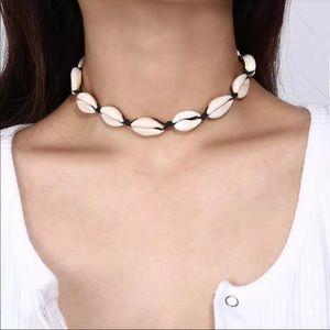 Puka shell necklace!